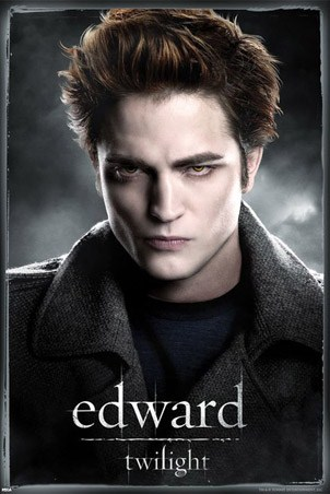 Robert Pattinson is Edward - Twilight