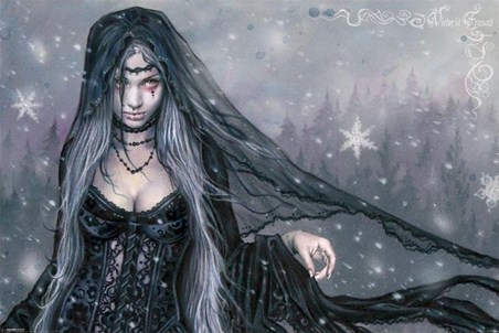 Gothic Winter - Victoria Frances