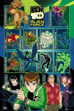 Alien Force Characters - Ben 10