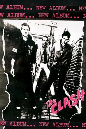 Debut Album Art - The Clash