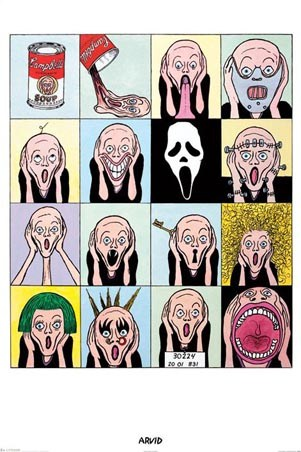 Warhol Scream - Arvid Andreassen