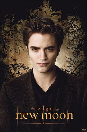 Edward Cullen in the Woods - Robert Pattinson in Twilight: New Moon
