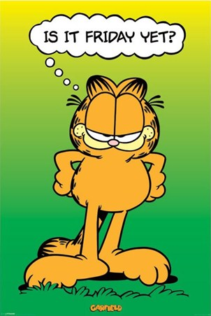 Is It Friday Yet? - Garfield