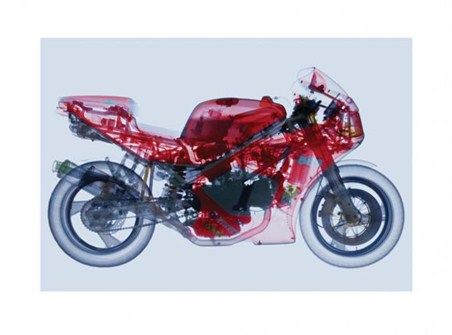 Mean Machine - X-Ray View of a Motorbike