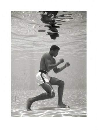 Underwater Training - Muhammad Ali