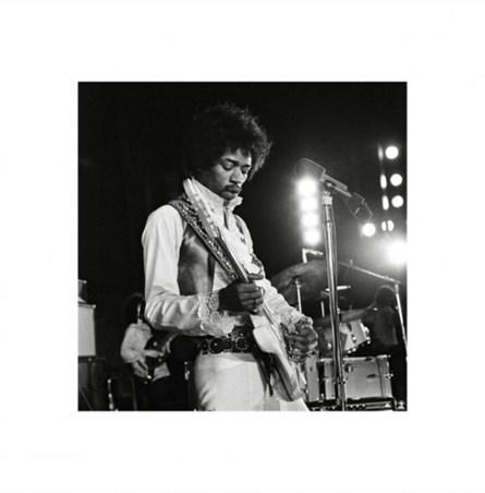 Jimi Hendrix Live - Celebrity Photography