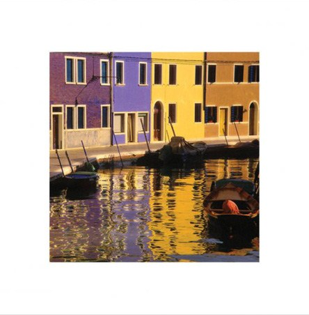 Venetian Colours - Gondolas in Venice