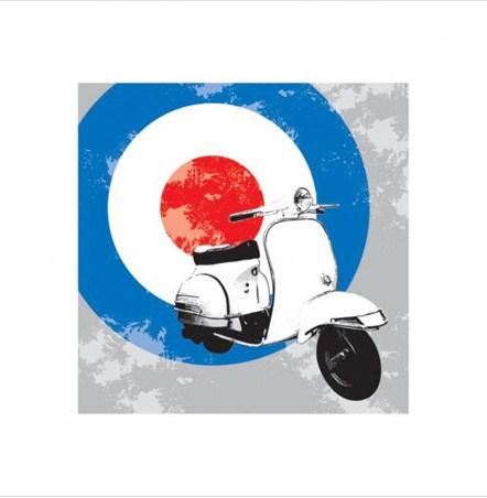 Mod Scooter - The Mod Scene