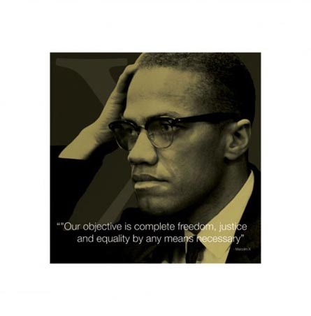 Complete Freedom, Justice and Equality - Malcolm X