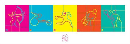 Dynamic Pictograms - London Paralympic Games 2012