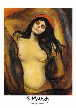 Madonna, 1894-95 - Edvard Munch