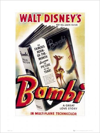Bambi Original Movie Score - Walt Disney's Bambi