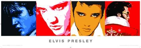 Elvis Pop Art Style - Elvis Presley