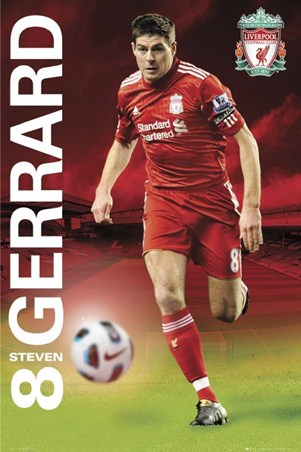 Steven Gerrard - Liverpool Football Club