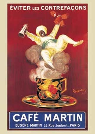 Cafe Martin - Leonetto Cappiello