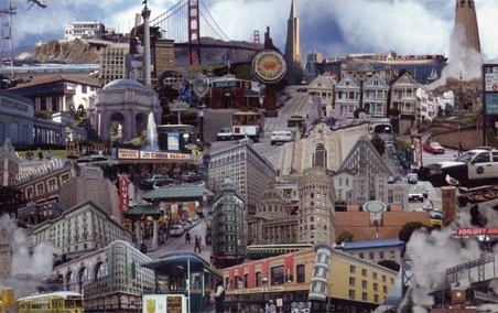 Classic sights of San Francisco - San Francisco