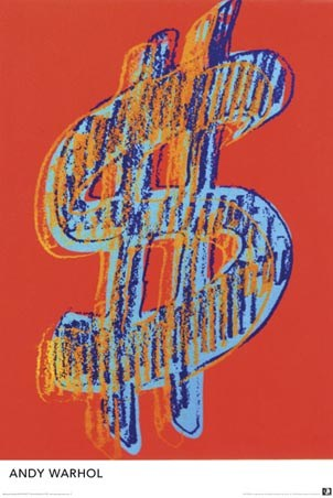 $$$ Dollars - Andy Warhol