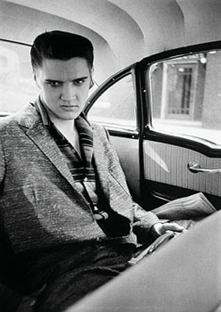 Elvis in the Car - Elvis Presley