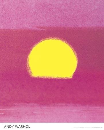 Sun - Andy Warhol
