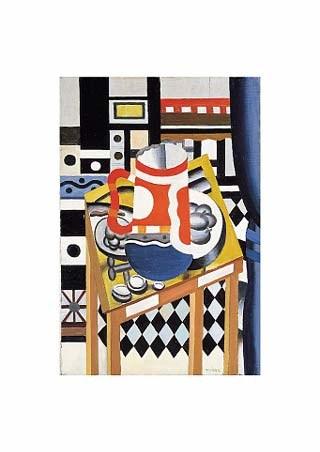 Still Life with Beer Mug, 1931 - Fernand Leger