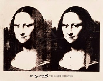Double Mona Lisa, 1963 - Andy Warhol