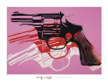 Gun, 1981-82 - By Andy Warhol