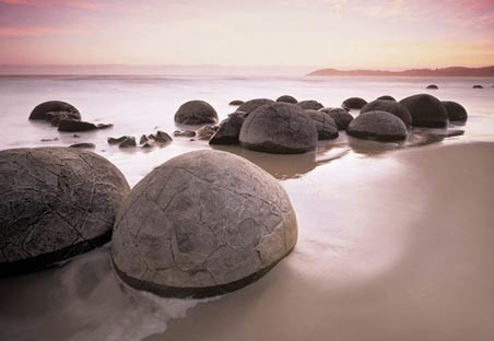 Moeraki Boulders At Oamaru - Photography 8 Sheet Wall Mural