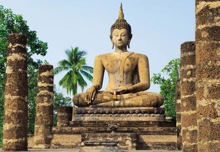 Wat sra si temple sukhothai photography 8 sheet wall for 8 sheet giant wall mural