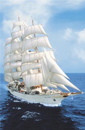 Sailing the High Seas - The Sea Cloud Sailing Yacht