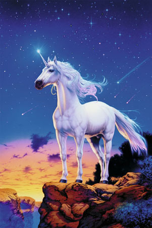 Unicorn and Comets - By Steve Read