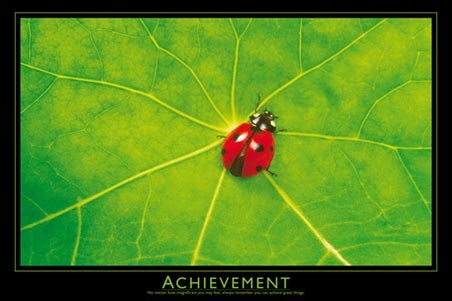 Achievement - Inspirational Quote