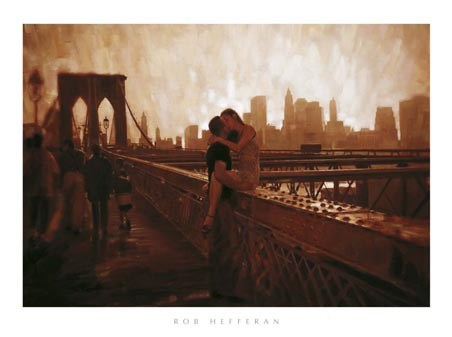 Love on the Brooklyn Bridge - Rob Hefferan