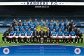 Team Photo 2013/14 Rangers Football Club