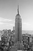The Empire State Building by Henri Silberman Photography Mini Mural