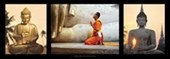 Spirituality A Triptych of Buddhist Images