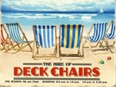 Deck Chairs For Hire Brilliant Blue