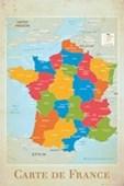 Carte De France France