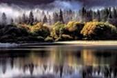 Misty Reflection Landscape Photography