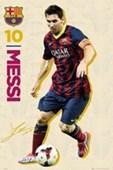 Vintage Lionel Messi FC Barcelona