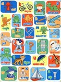 Learning The Alphabet For Boys Children's Alphabet