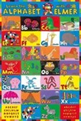 Learn The Alphabet With Elmer Educational Art