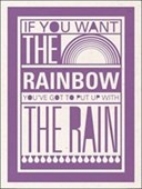 If You Want The Rainbow Sarah Winter