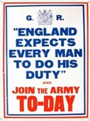 England Expects Join The Army Today