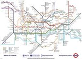 London Underground Map British Transport