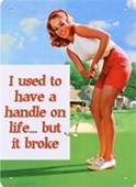 A Handle On Life The Broken Woman
