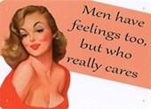 Men Have Feelings Too! Vintage Vixen