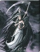 Summon The Reaper Canvas Print Anne Stokes