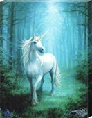 Forest Unicorn Canvas Print Anne Stokes