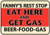 Fanny's Rest Stop Retro Diner