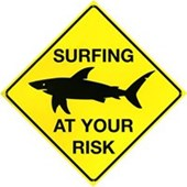 Surfers Warning At Your Risk